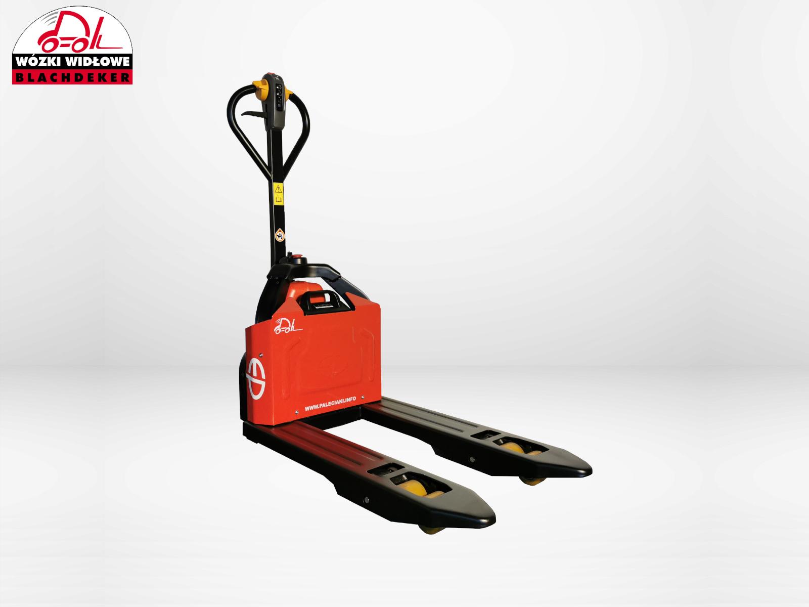 Krótki elektryczny wózek paletowy EP EPT 12EZ PRO