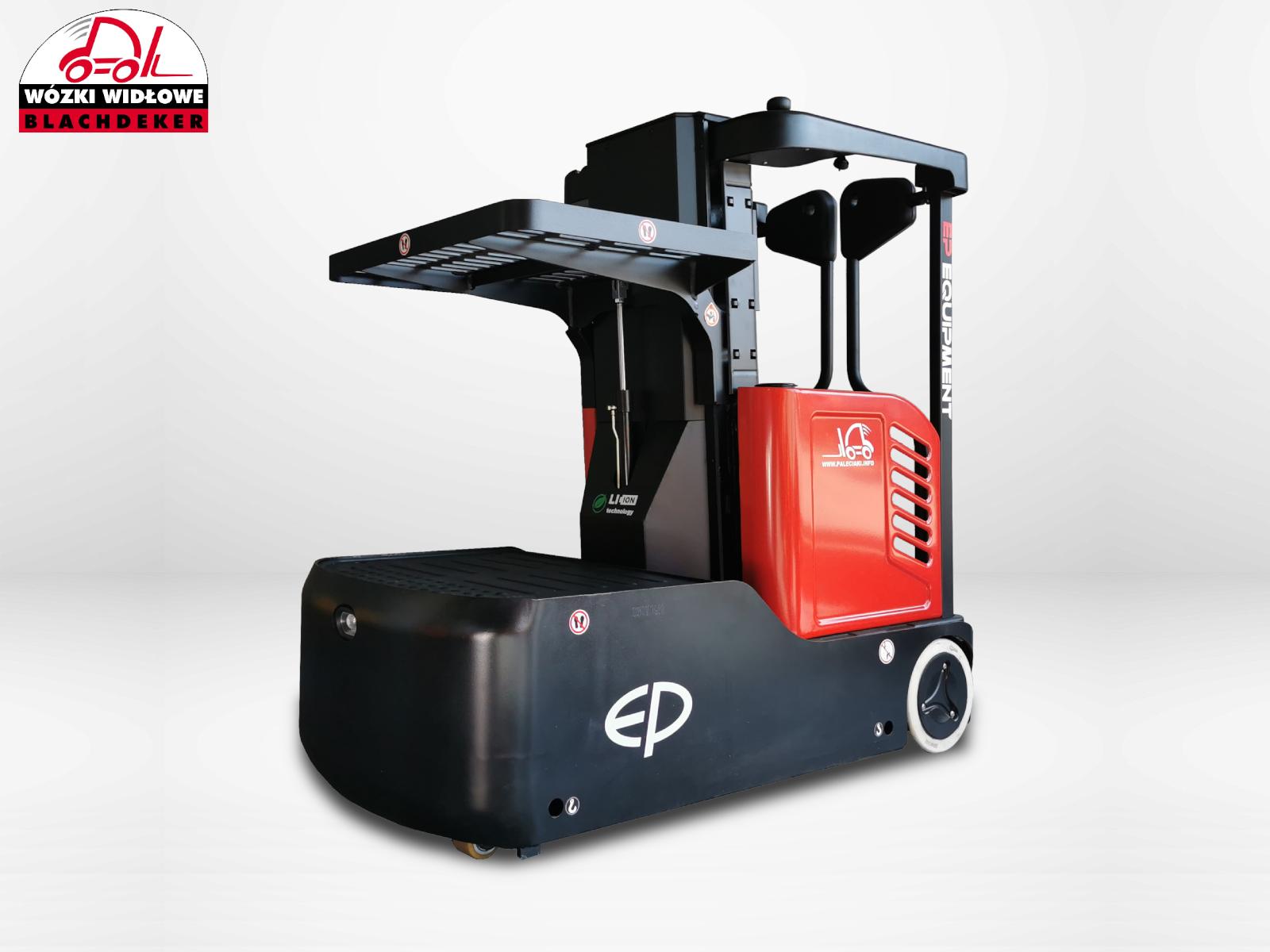 Electric order picker EP JX0 Li-ion battery