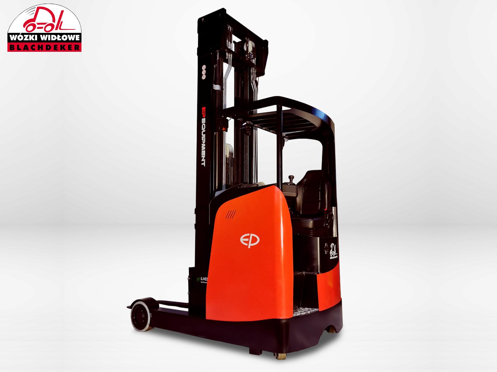 High storage pallet truck EP Reach Truck CQD 20RVF