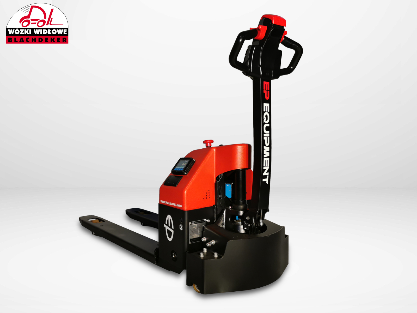 Electric pallet truck with scales EP EPT20 15ET
