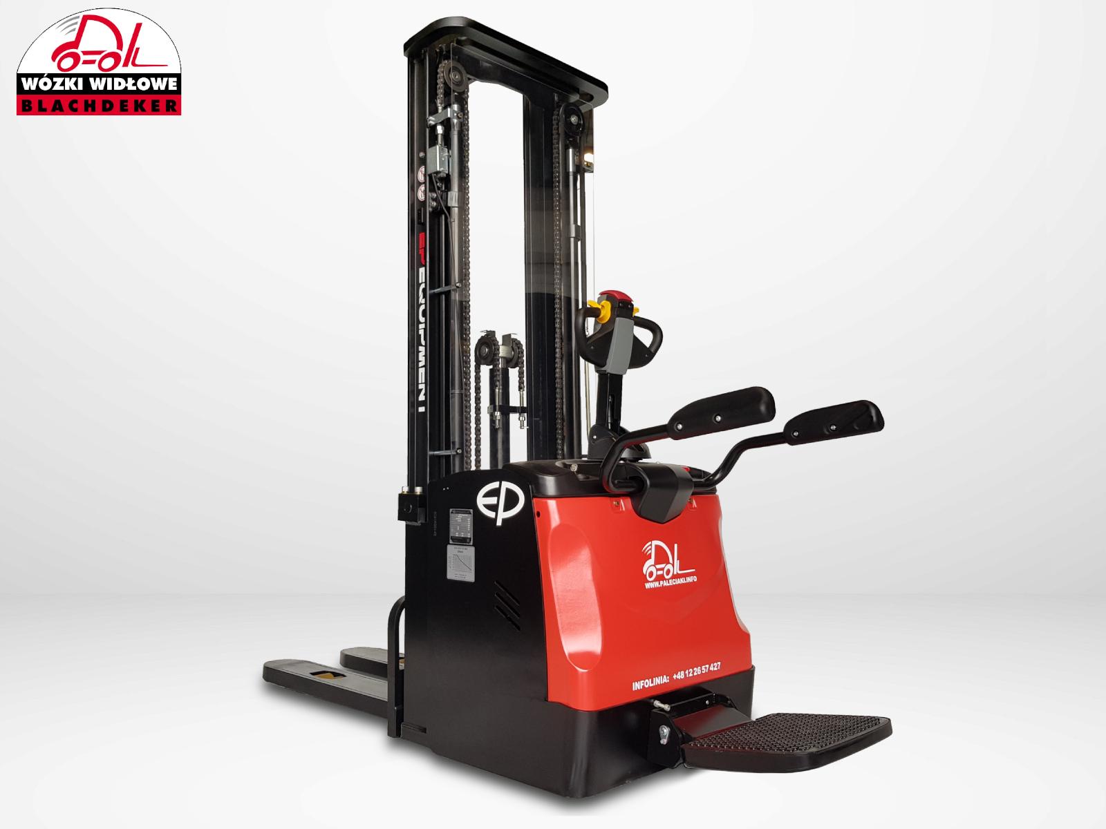 Elektrohubwagen mit Mast EP ES16-RS 5500 TRIPLEX Li-ion