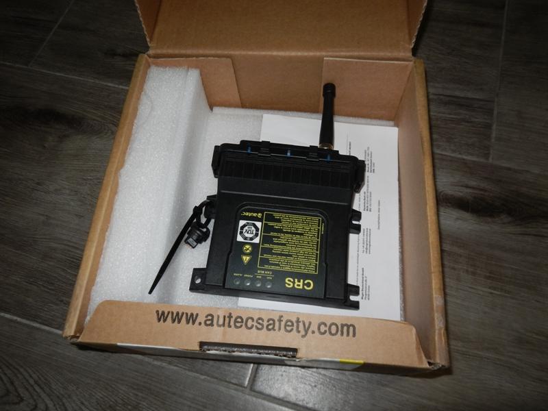 CRS-Funkempfänger für Kontrollraum für Teleskoplader Magni RTH5.18