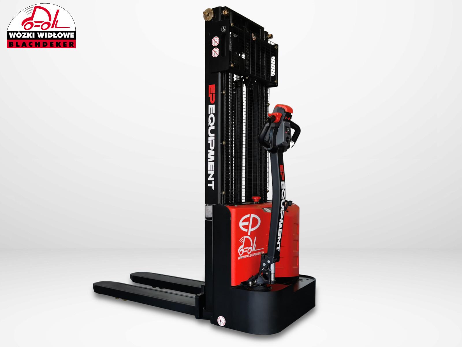 Elektryczny wózek paletowy-masztowy EP EST 122-2700