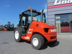 Used rough terrain forklift