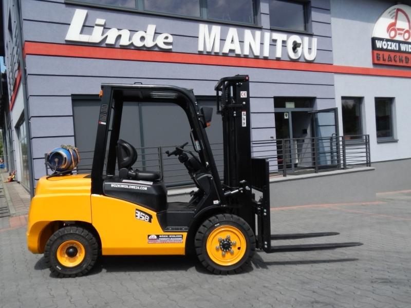 New LPG Forklift